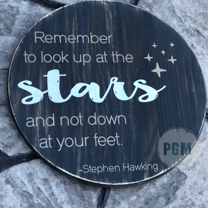 Remember to look up at the Stars: ROUND DESIGN
