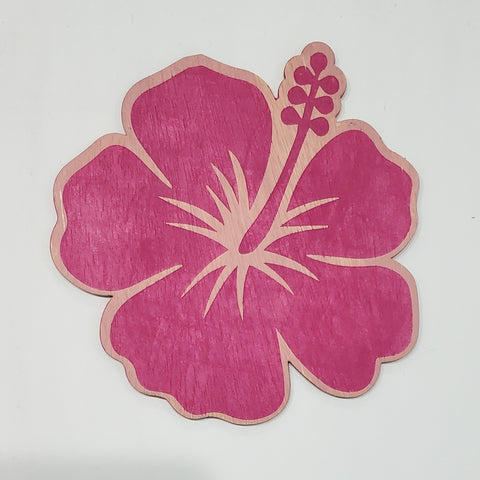 Hibiscus Flower:  Interchangeable Shape