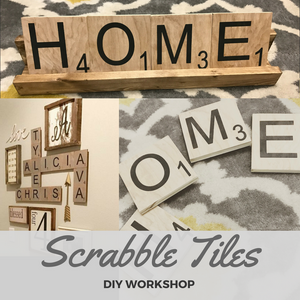 SCRABBLE TILES - Paisley Grace Designs