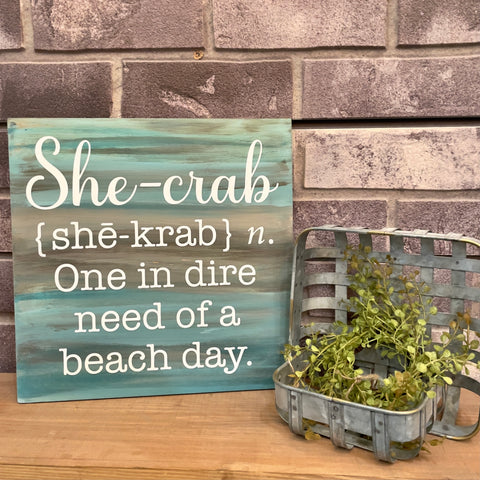 She-Crab: MINI DESIGN