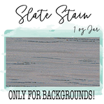 Slate Stain  1 oz Paint Color (Background/Distressing Only)