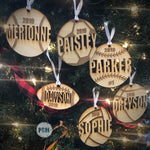 Sports Ornaments - Paisley Grace Designs