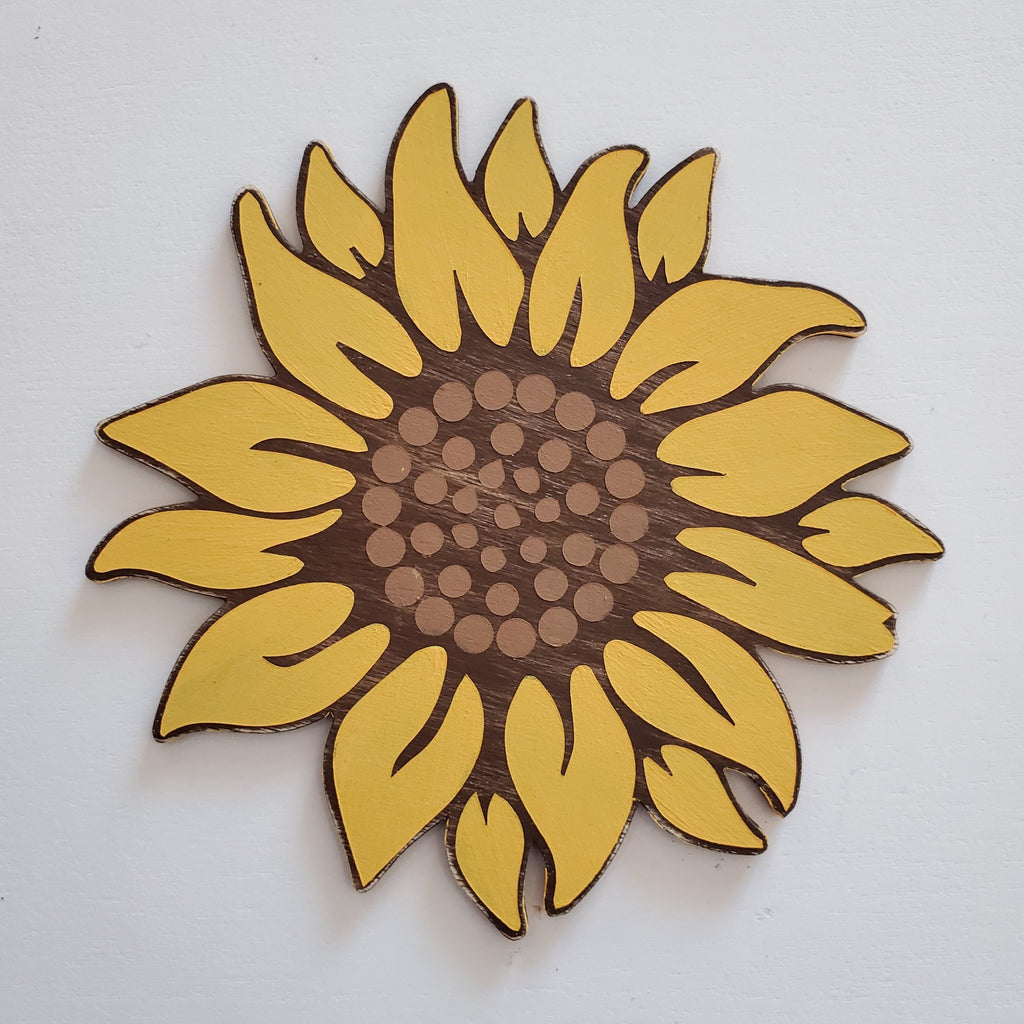 Sunflower: Interchangeable Shape - Paisley Grace Designs