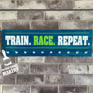 TRAIN. RACE. REPEAT.: Medal Holder
