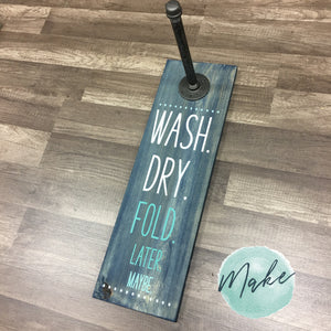 WASH. DRY. FOLD.: Laundry Clothes Hanger