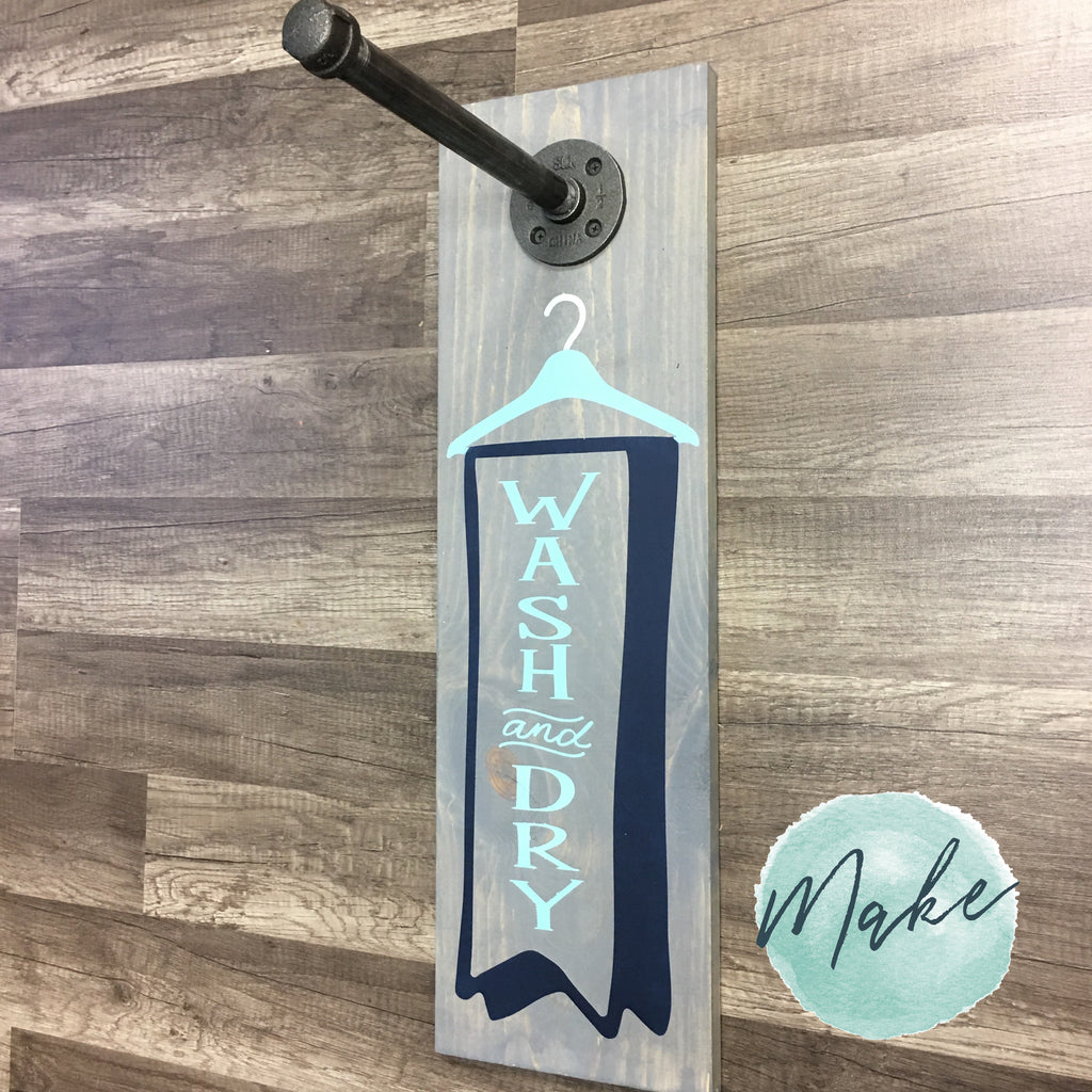 WASH AND DRY: Laundry Clothes Hanger