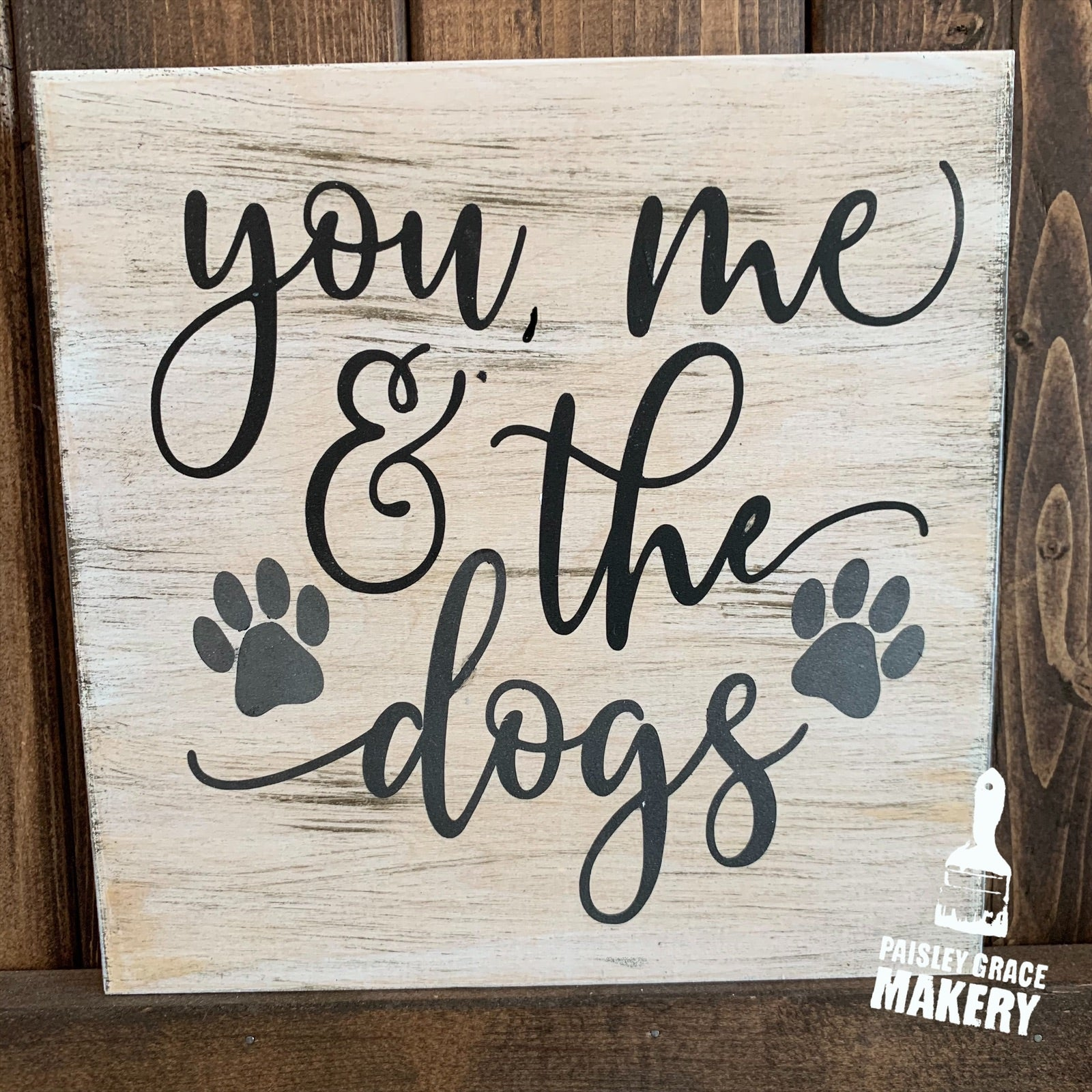 YOU ME & THE DOGS: MINI Design - Paisley Grace Designs