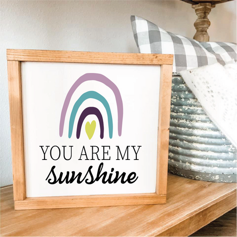 You are my sunshine rainbow: MINI DESIGN