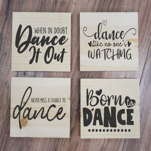 Dance 4 Pack Take and Make Kit - Paisley Grace Designs