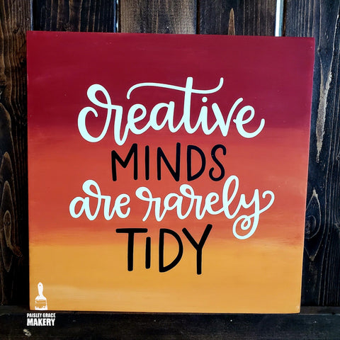 Creative Minds are rarely Tidy: SQUARE DESIGN