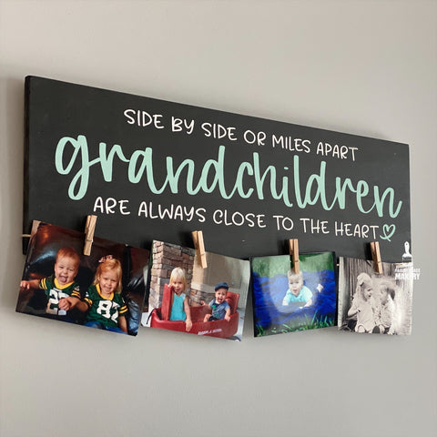 Side by Side or Miles apart Grandchildren: PLANK DESIGN - Paisley Grace Designs