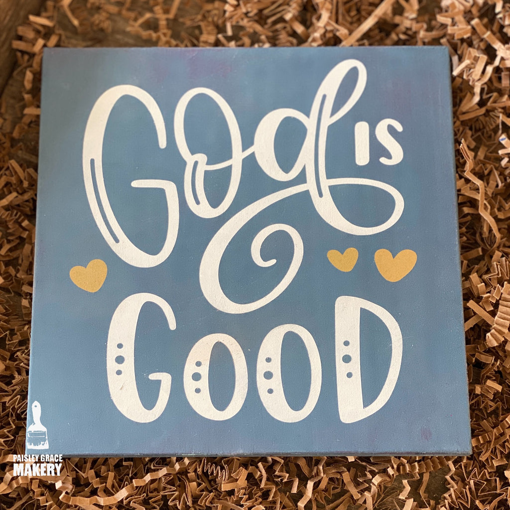 God Is Good: MINI DESIGN - Paisley Grace Designs