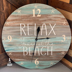 Relax you're at the beach: CLOCK WORKSHOP DESIGN
