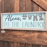 Alexa, Do the Laundry: Plank Design