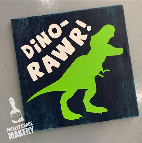 Dino-Rawr: MINI DESIGN - Paisley Grace Designs