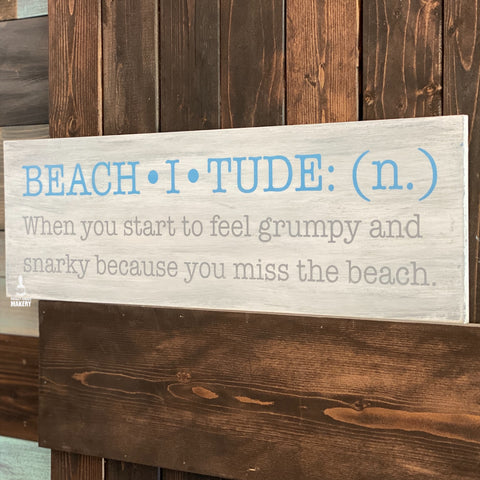 BEACHITUDE: PLANK DESIGN