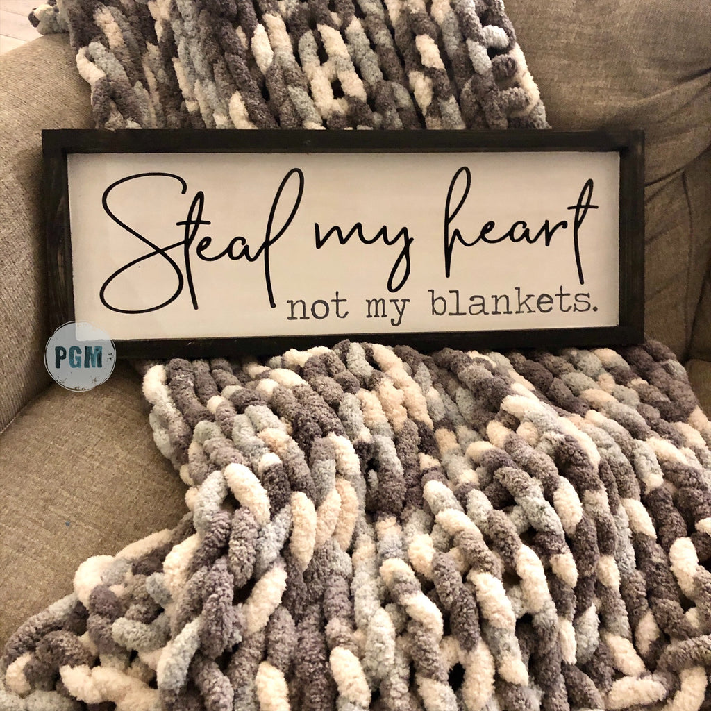 Steal My Heart Not My Blankets: PLANK DESIGN