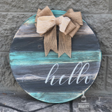 HELLO: ROUND DESIGN - Paisley Grace Designs