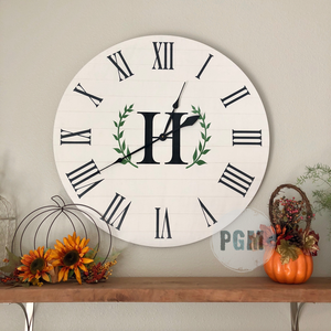 INITIAL WITH LAUREL: CLOCK WORKSHOP DESIGN - Paisley Grace Designs