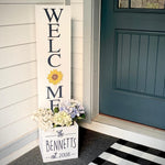 Interchangeable Welcome Planter: Welcome Planter