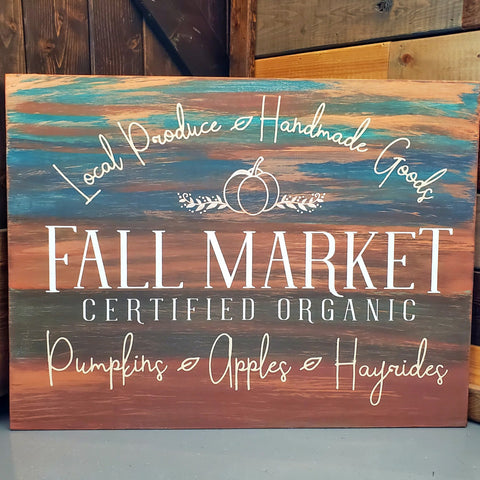 Fall Market Certified Organic: Signature Design