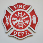 Fire Department Badge: Interchangeable Shape