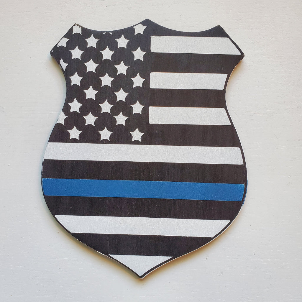 Police Badge: Interchangeable Shape