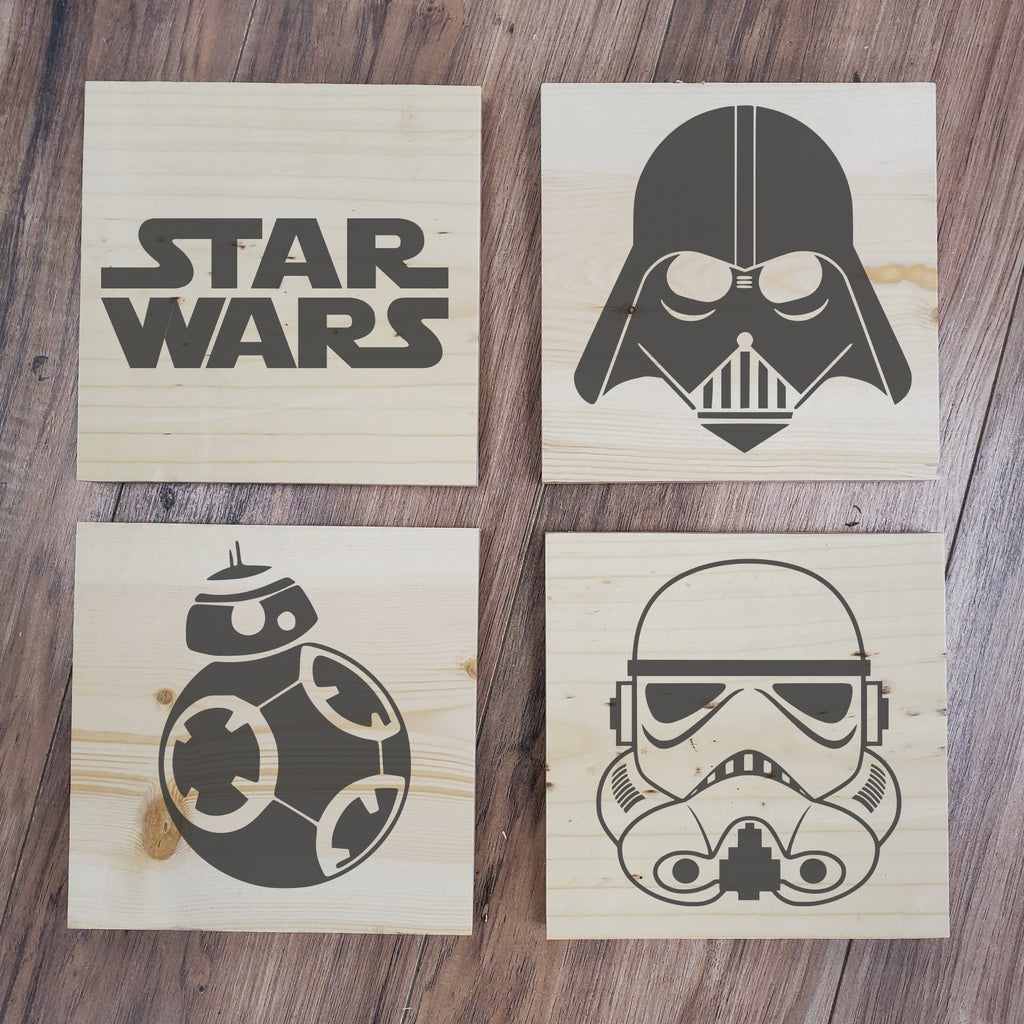 Star Wars 4 Pack Take and Make Kit - Paisley Grace Designs