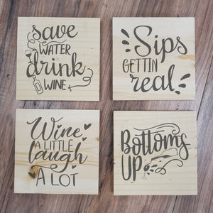 Wine 4 Pack Take and Make Kit - Paisley Grace Designs