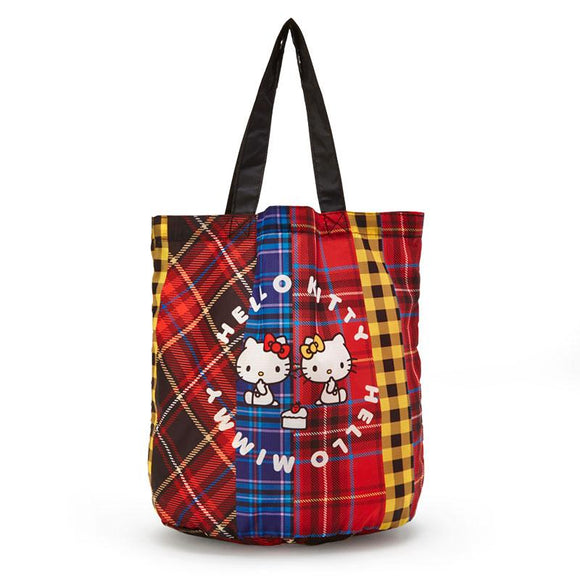 Hello Kitty &  Mimmy Sister Reusable Shopping Bag by Sanrio