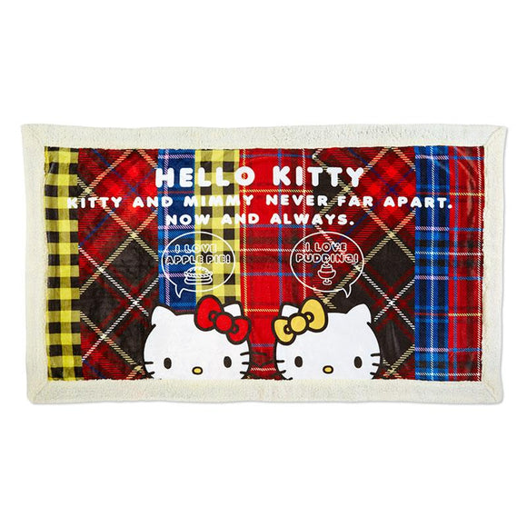 Hello Kitty & Mimmy Together Blanket by Sanrio