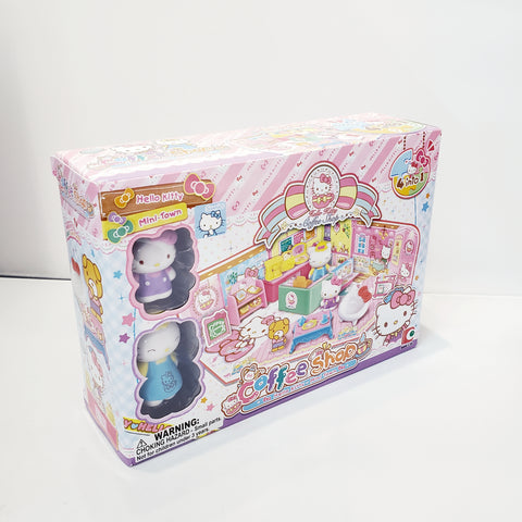 Hello Kitty Coffee Shop toy set - Megazone