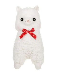 Alpacasso White Alpaca Plush by Amuse - Megazone