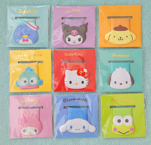 Sanrio Characters Face Magnet/ Paper Clip by Sanrio
