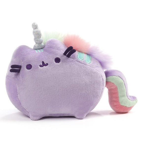 Pusheen/ Pusheenicorn Sound Plush Animal Toy, Purple 7.5