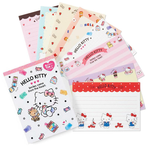 Hello Kitty Memo Pad 8 Prints Designs by Sanrio