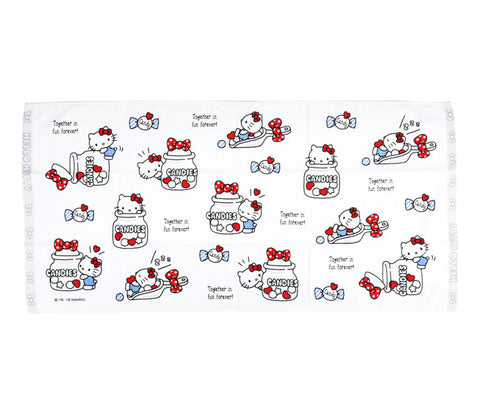 Hello Kitty Bath Towel: Candy - Megazone