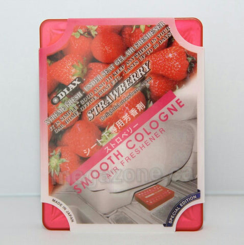 Smooth Cologne Strawberry Scent Japanese Air Freshener/ Spencer By Diax