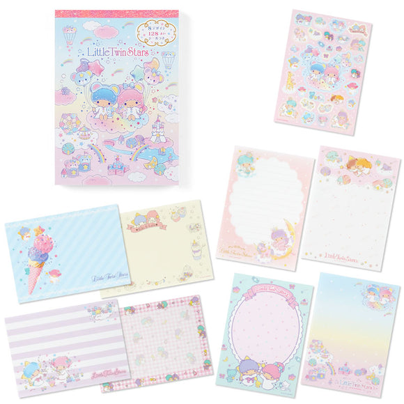 Little Twin Star Memo Pad 8 Prints Designs by Sanrio