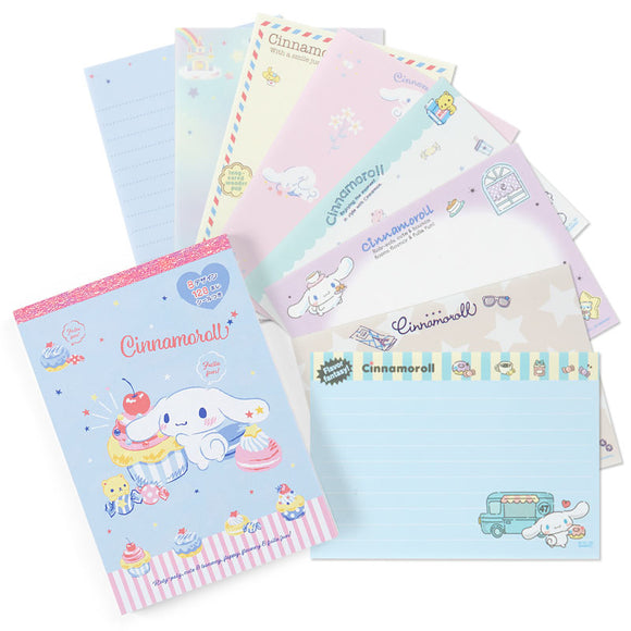 Cinnamoroll Memo Pad 8 Prints Designs by Sanrio