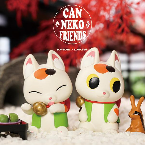 CanNeko Friends Blind Box by Konatsu x POP MART