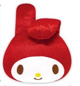 My Melody Face Cushion Red by Sanrio