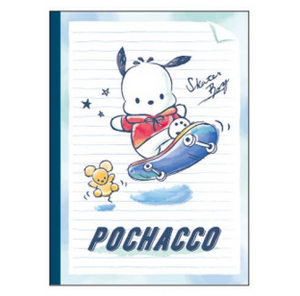 Pochacco B5 Line Notebook by Sanrio