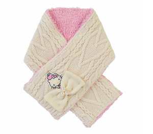 Hello Kitty Knit Scarf by Sanrio