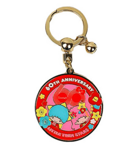 Little Twin Stars 60 Anniversary Key Chain by Sanrio