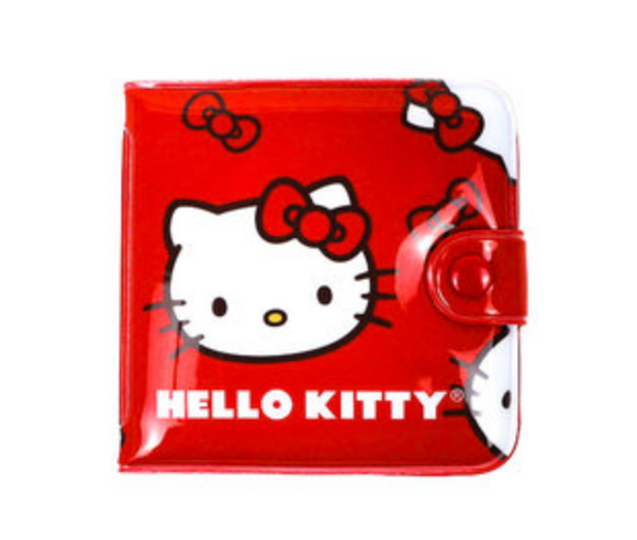Hello Kitty Compact Vinyl Wallet by Sanrio