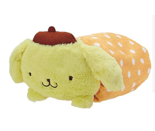 Pompompurin Blanket And Case : Plush Friend by Sanrio
