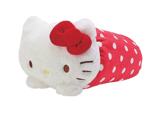 Hello Kitty Blanket And Case Collection: Plush Friend by Sanrio