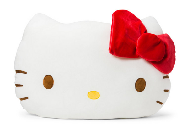 Hello Kitty Face Plush/ Big by Sanrio