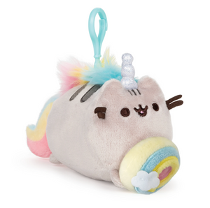 "Pusheen / Pusheenicorn Donut Log Backpack 5"" Plush by Gund"